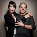 Cobie Smulders and Clark Gregg