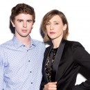 Freddie Highmore and Vera Farmiga